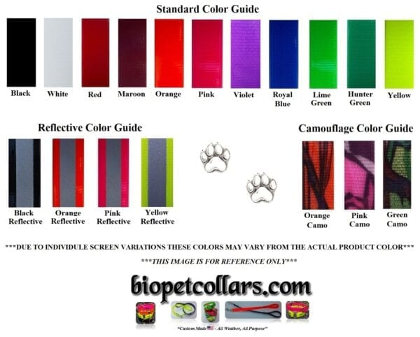 A standard color guide