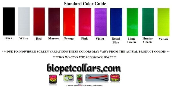 A guide for picking colors