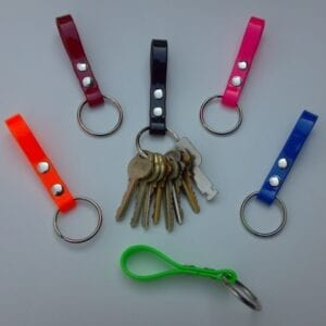 BIOTHANE KEY CHAINS